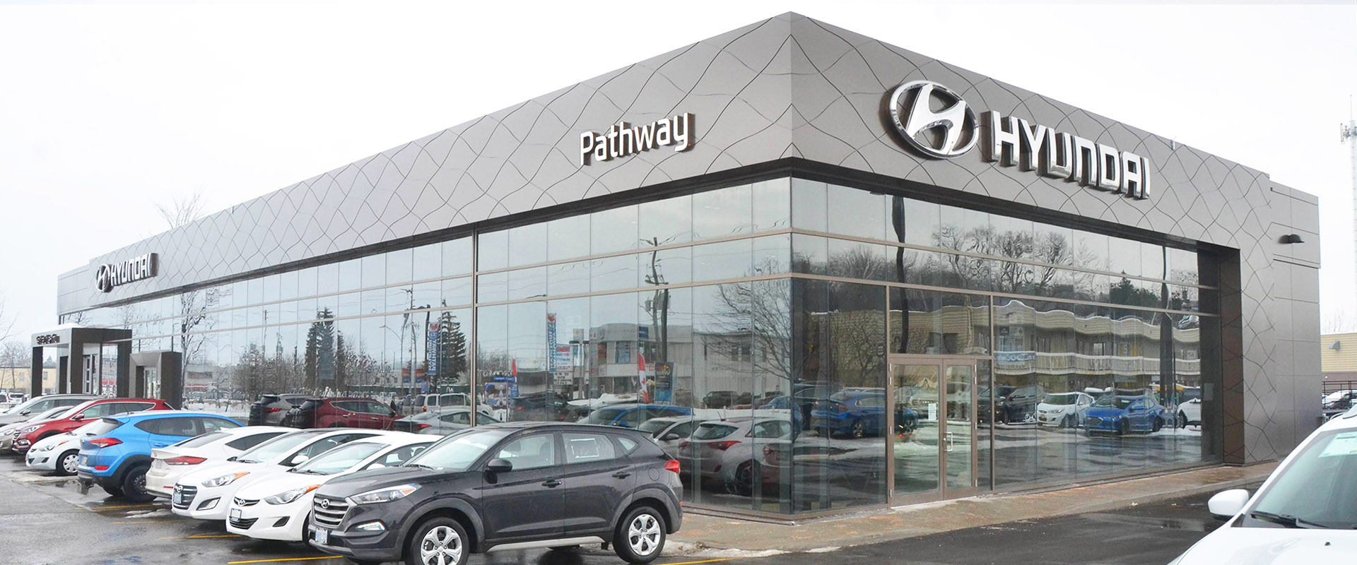 New Pathway Hyundai Building in Ottawa ON