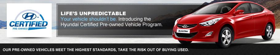 Hyundai Certified Pre-Owned