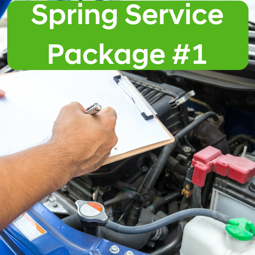 Spring Service Package #1