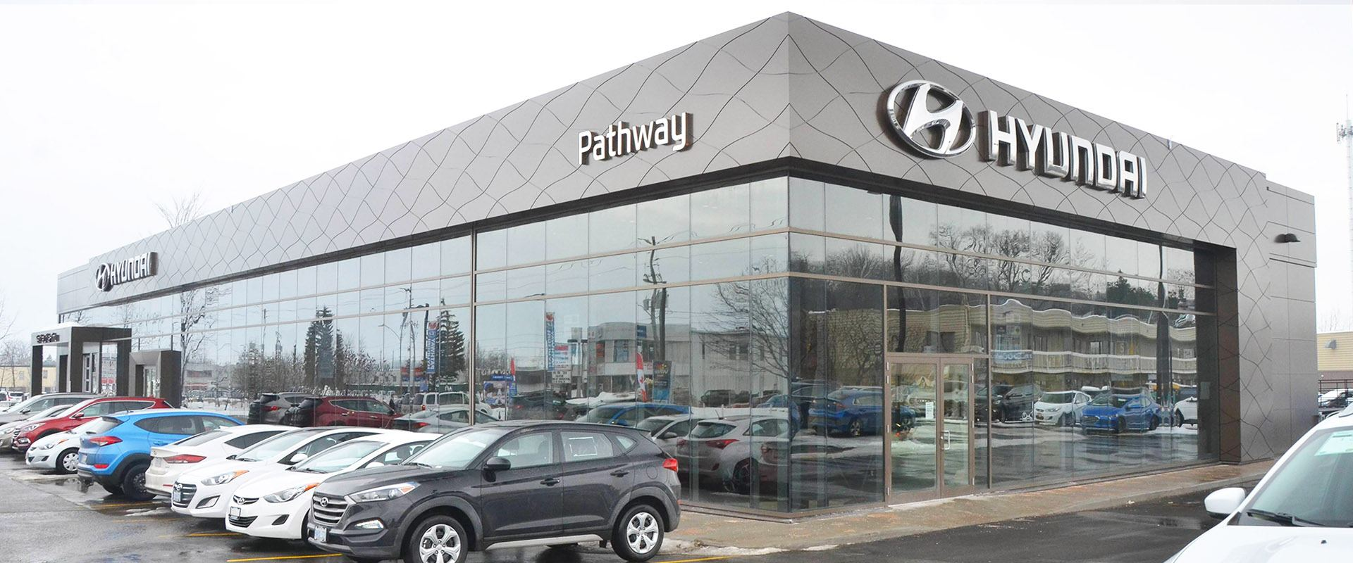 New Pathway Hyundai Building in Ottawa ON