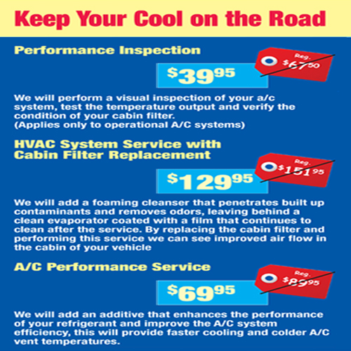 Air Conditioning Specials