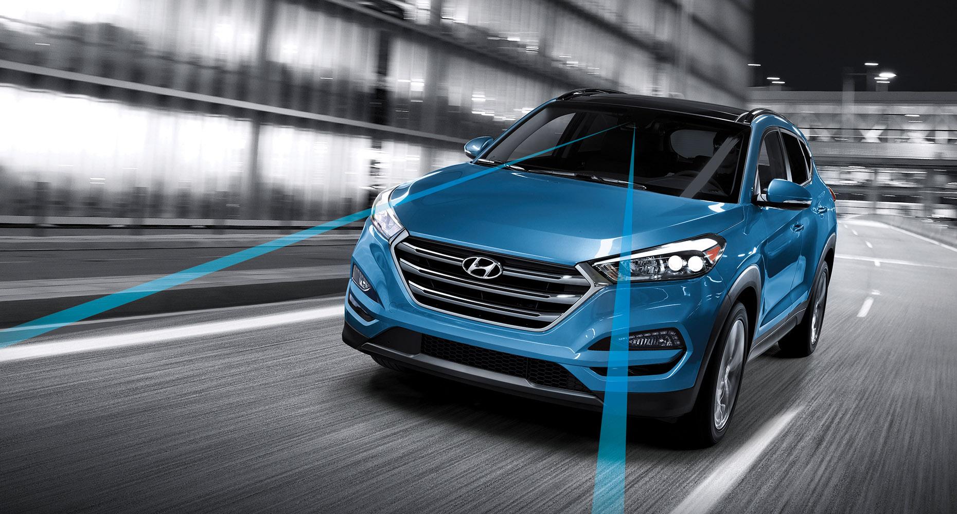 2017 Hyundai Tucson Safty