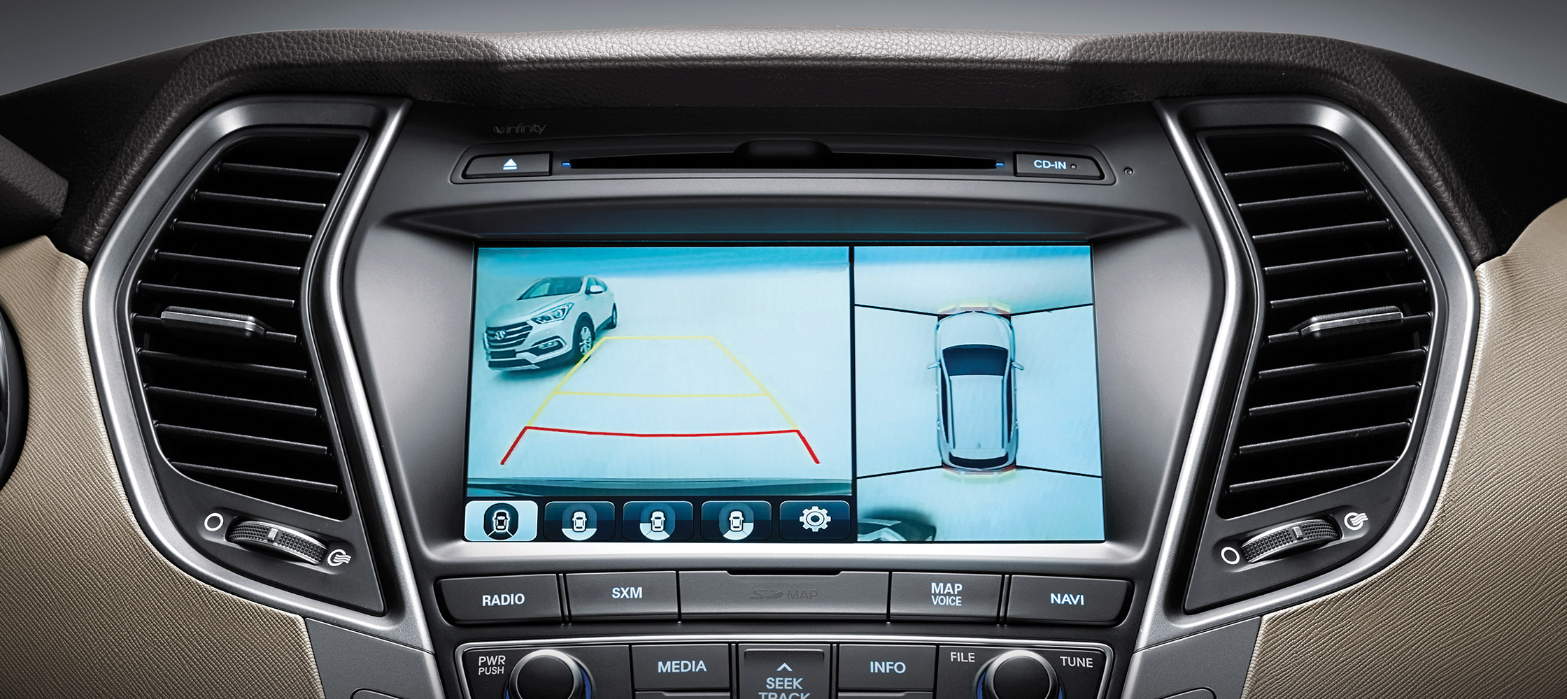 2018 Hyundai Santa Fe Sport Technology Overview Pathway Hyundai