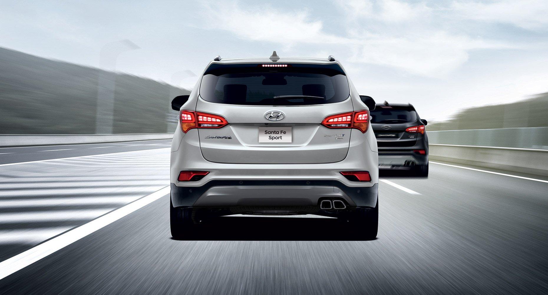 2018 Hyundai Santa Fe Sport Performance Overview Pathway Hyundai