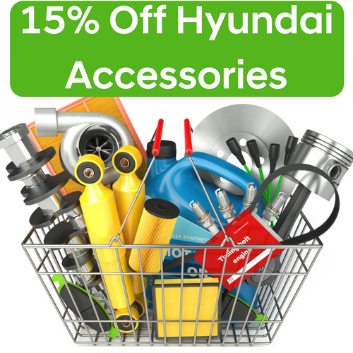 15% off Hyundai Accessories