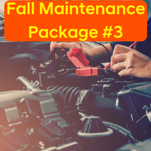 Fall Maintenance Package #3