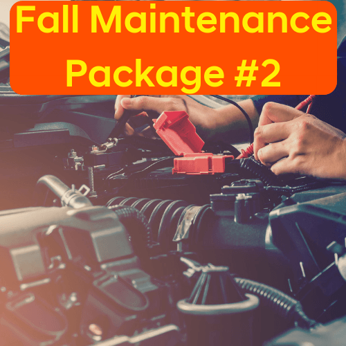 Fall Maintenance Package #2