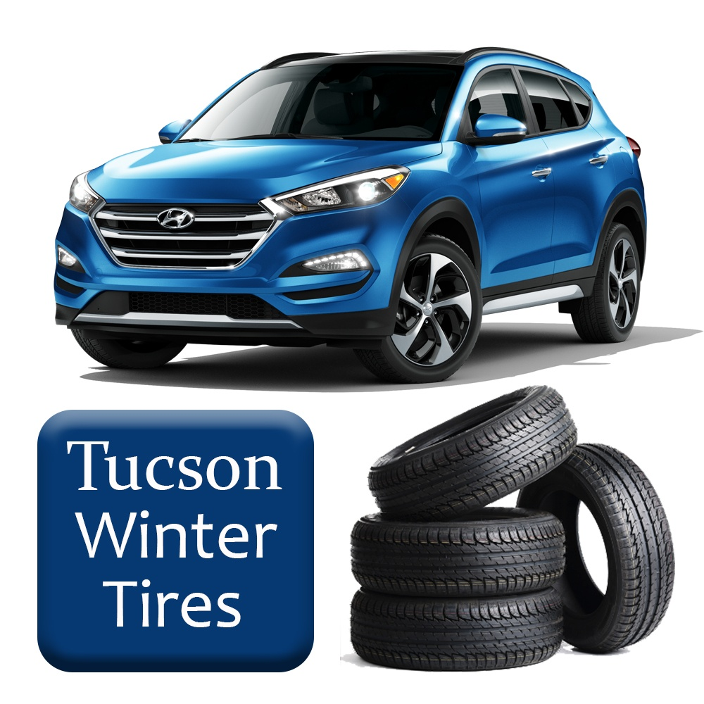 2016+ Tucson Winter Tires & Rims Package