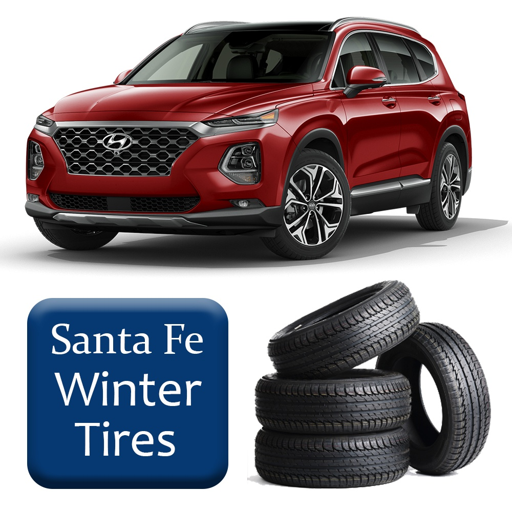 2013+ Santa Fe Winter Tires & Rims Package