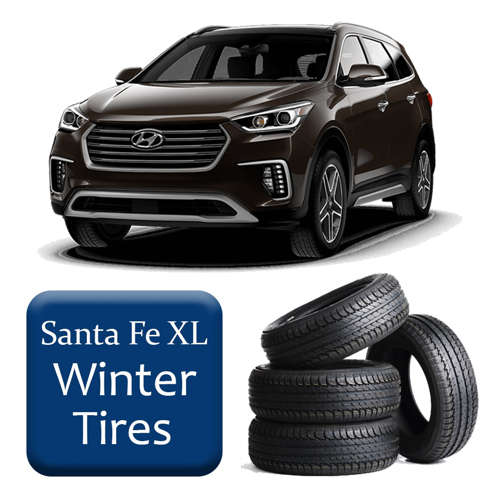 2013+ Santa Fe XL Winter Tires & Rims Package