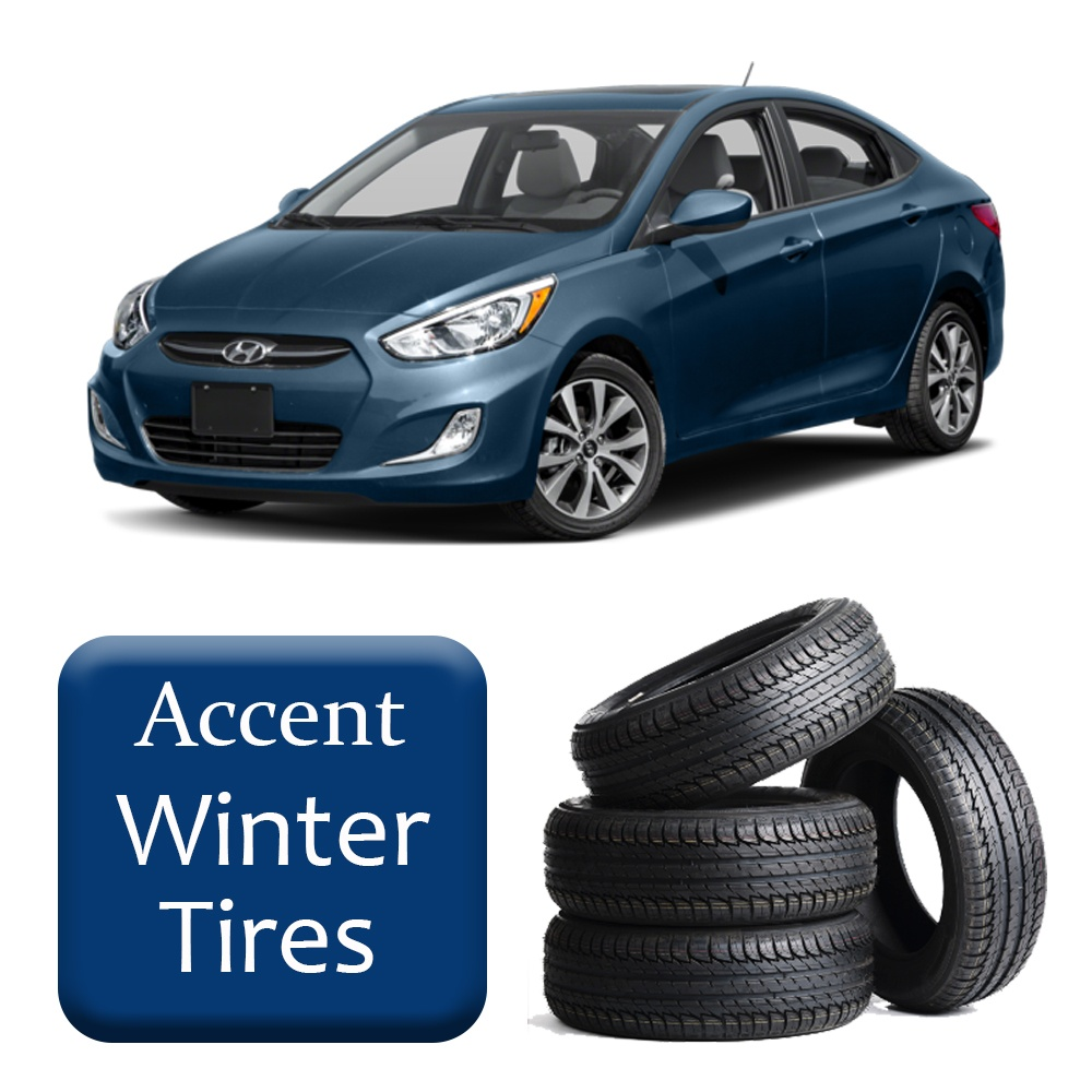 2012-2017 Accent Winter Tires & Rims Package