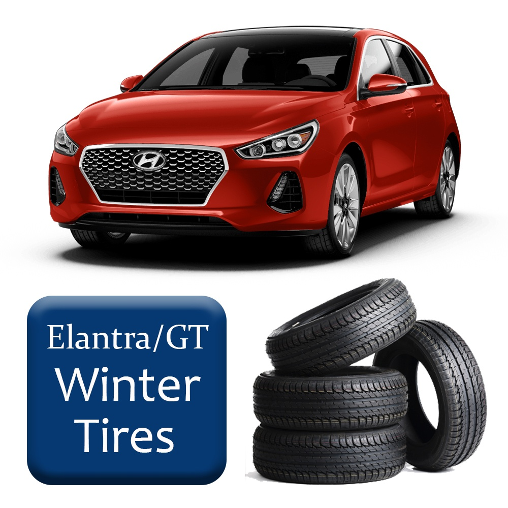 2015-2016 Elantra/GT Winter Tires & Rims Package