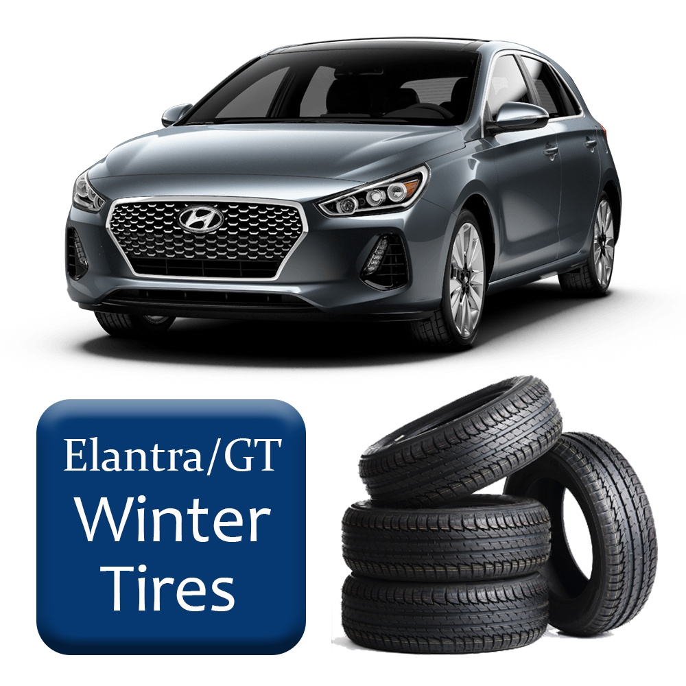 2017+ Elantra/GT L/LE/GL Winter Tires & Rims Package