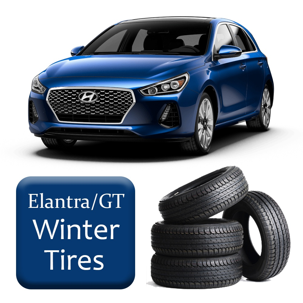 2017+ Elantra/GT CLS/LTD/ULT/Sport Winter Tires & Rims Package