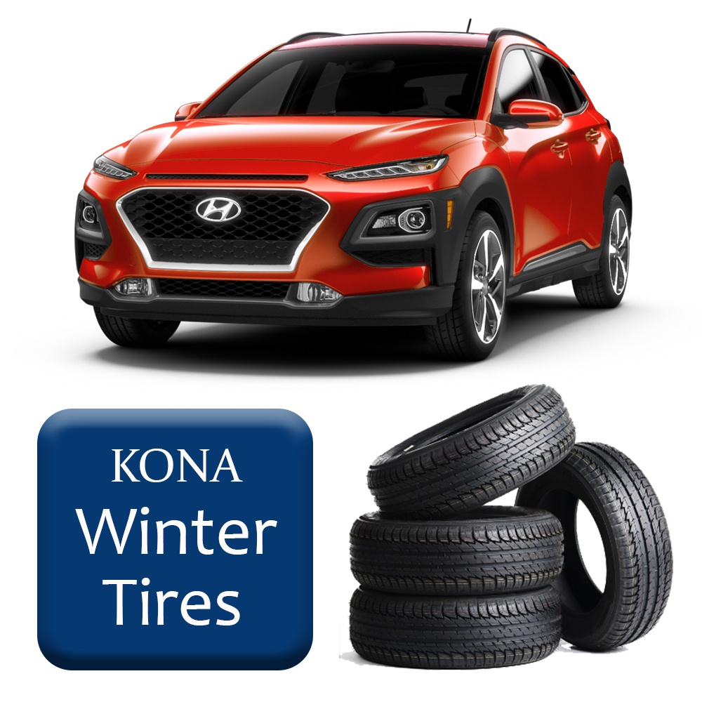 2018+ Kona Winter Tires & Rims Package