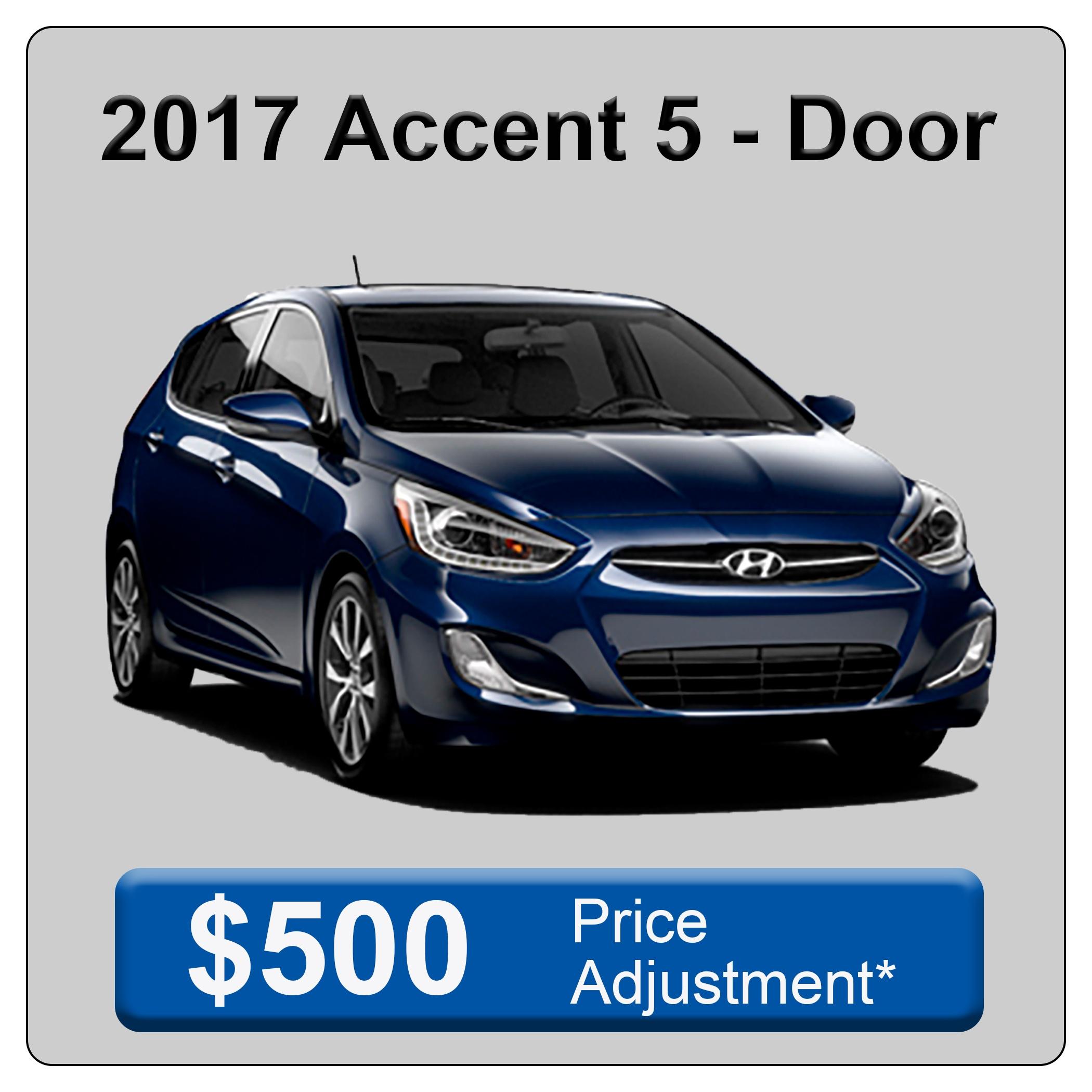 2017 Accent 5 Door