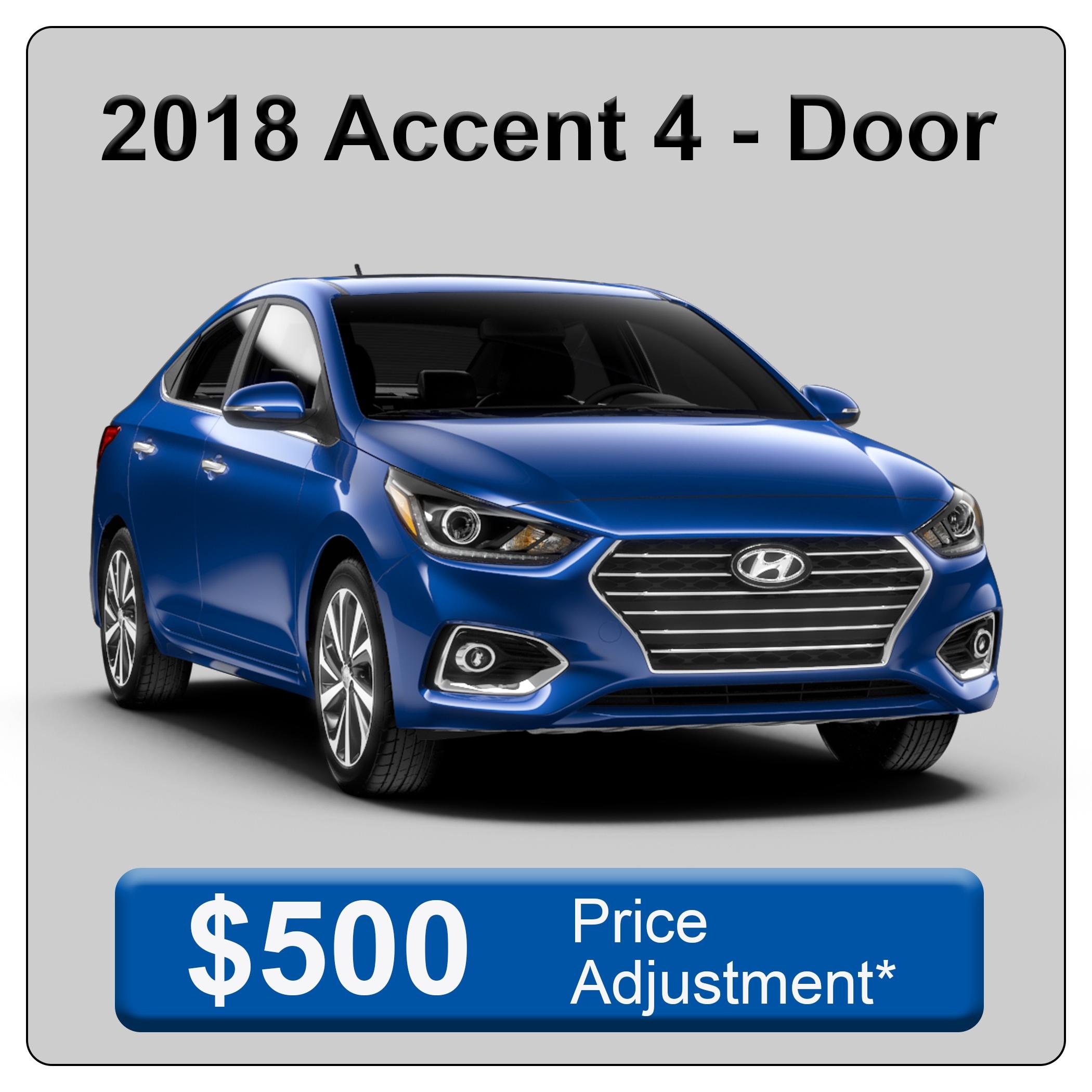 2018 Accent 4 Door