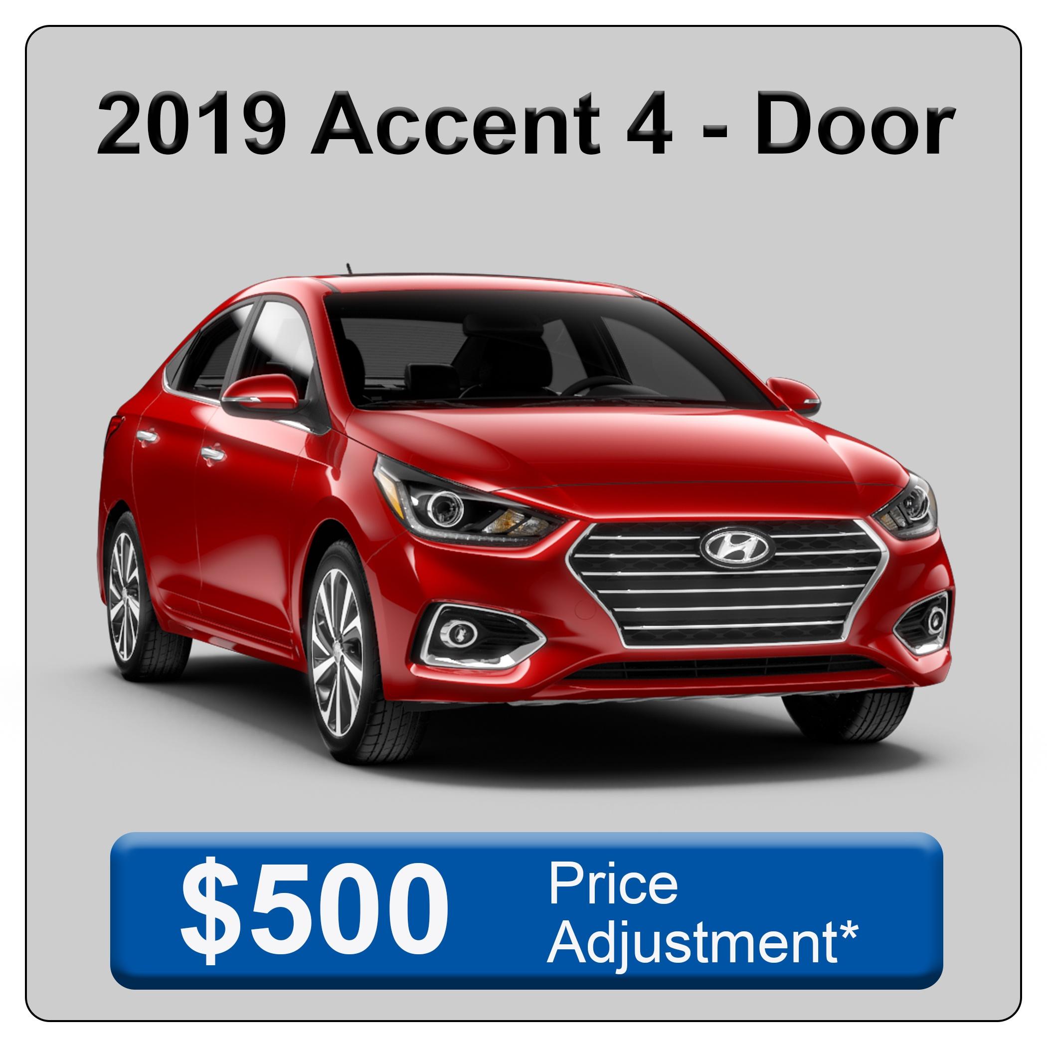 2019 Accent 4 Door
