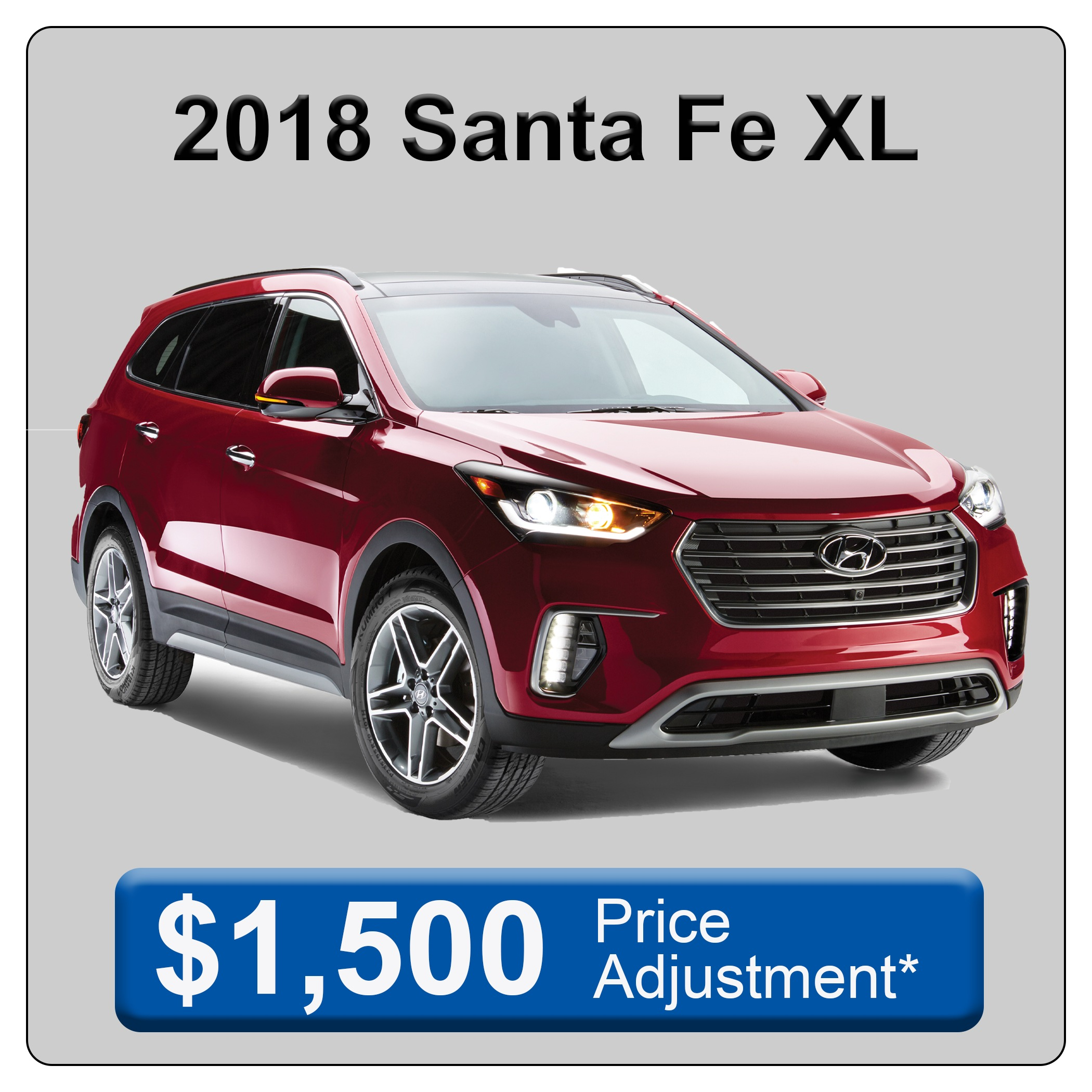 2018 Santa Fe XL