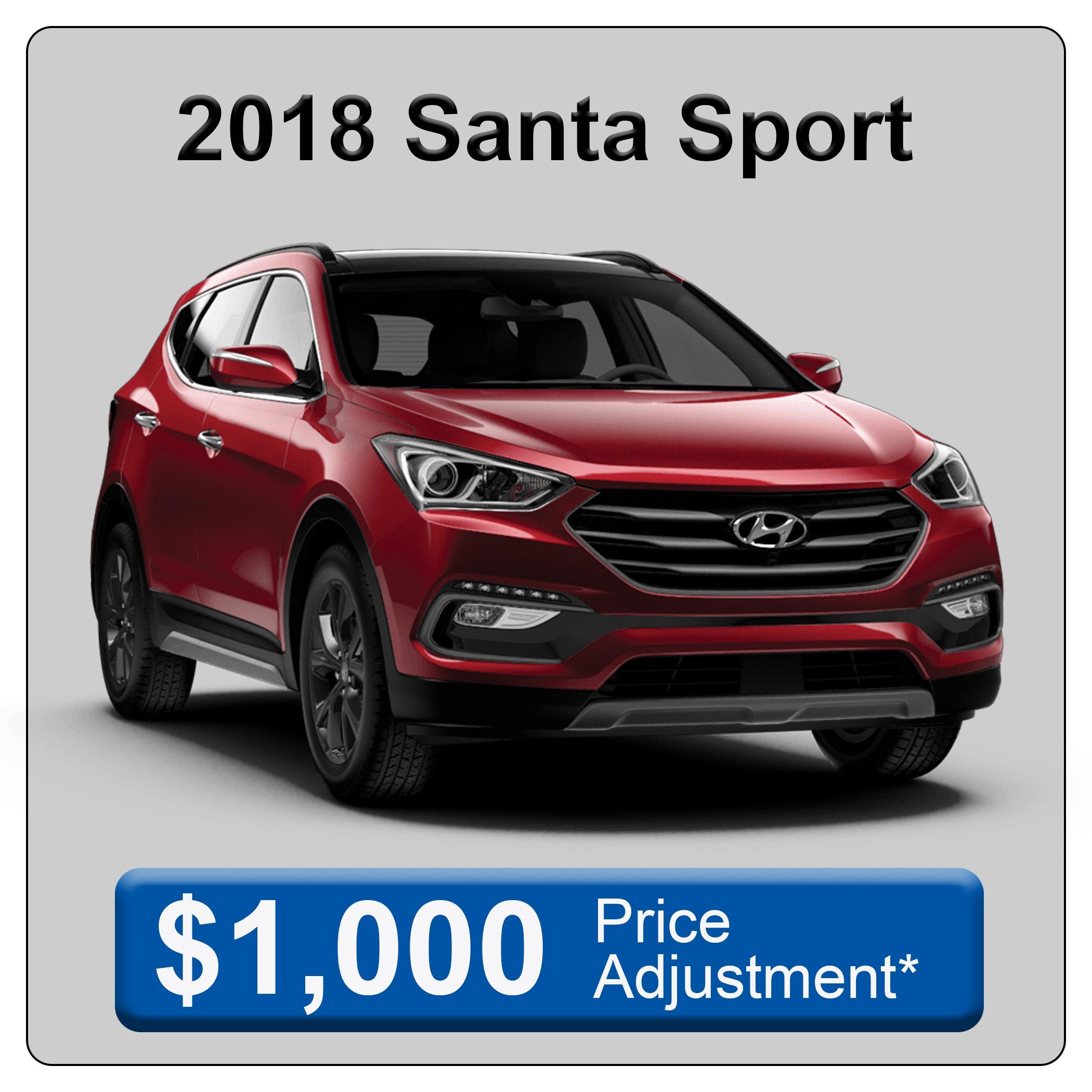 2018 Santa Fe Sport