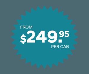 $249.95 per car