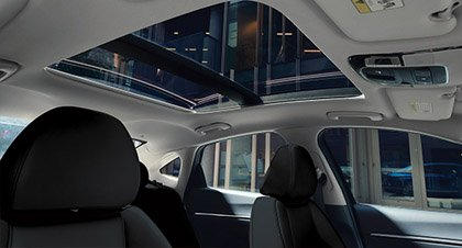 Dual Pane Sunroof in the 2020 Sonata