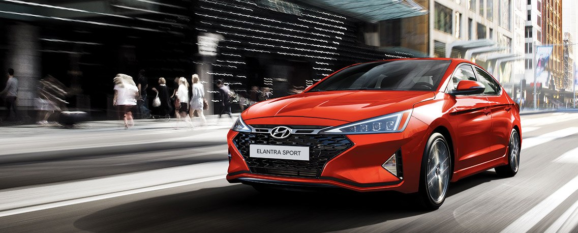 Find the 2020 Elantra Sport at Pathway Hyundai